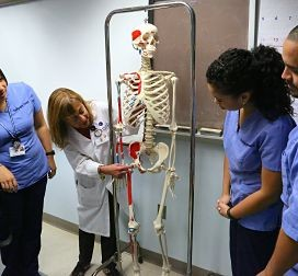 Radiography classroom training