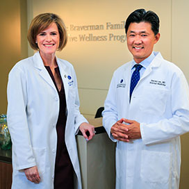 Executive wellness physicians Gottdiener and Lee