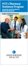 PGY-1 Pharmacy Residency Program brochure