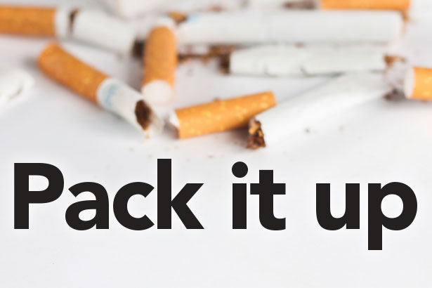 Pack it up smoking cessation program