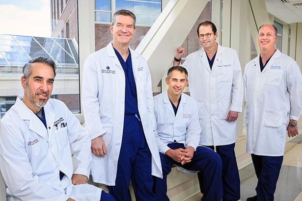 TAVR Team doctors