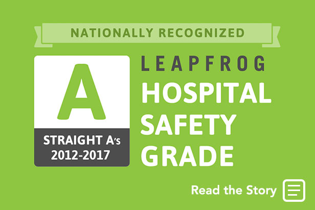 Englewood Hospital and Medical Center One of Only 3 NJ Hospitals to Achieve Straight A's from The Leapfrog Group