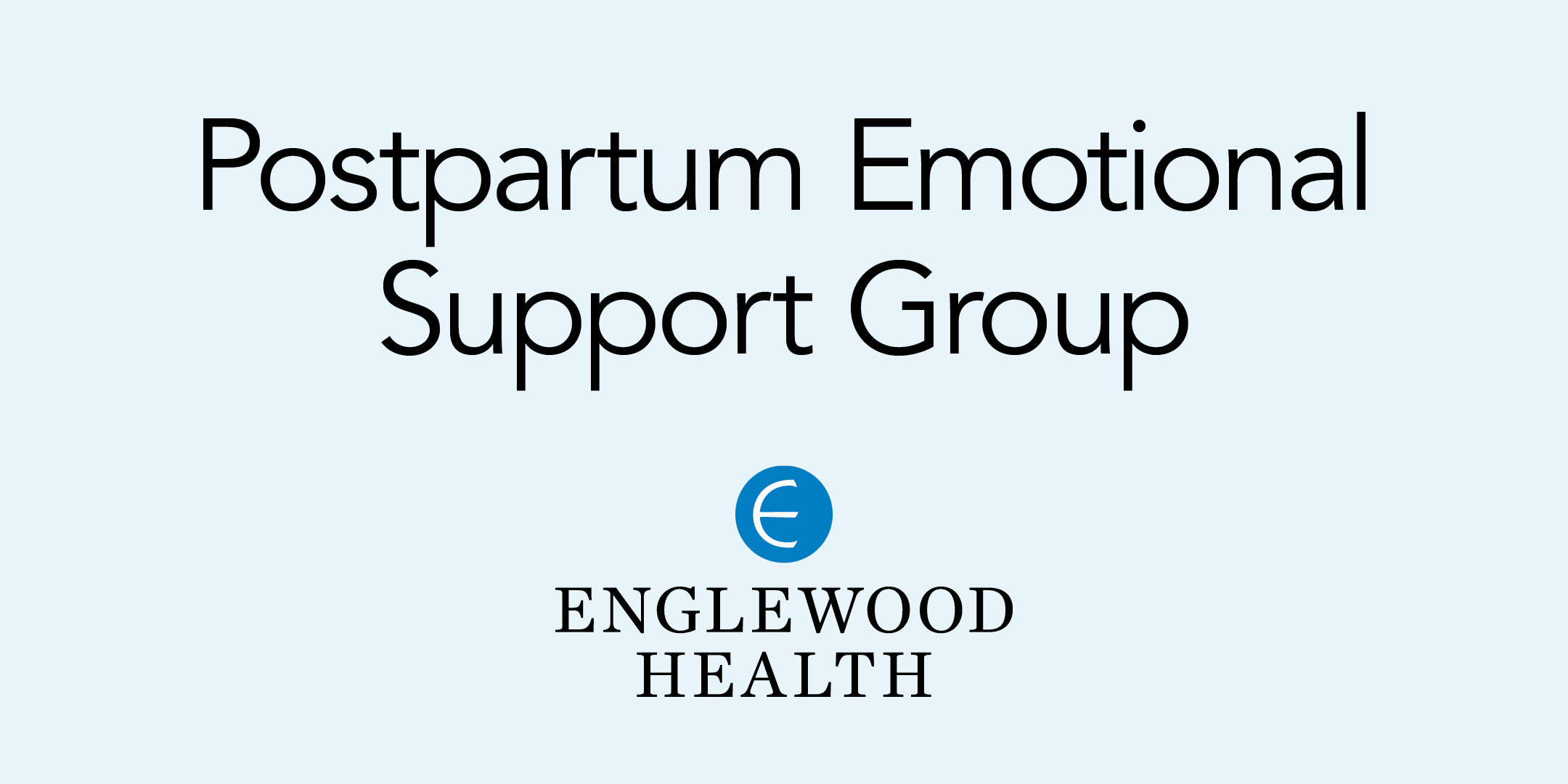More info: Postpartum Emotional Support Group