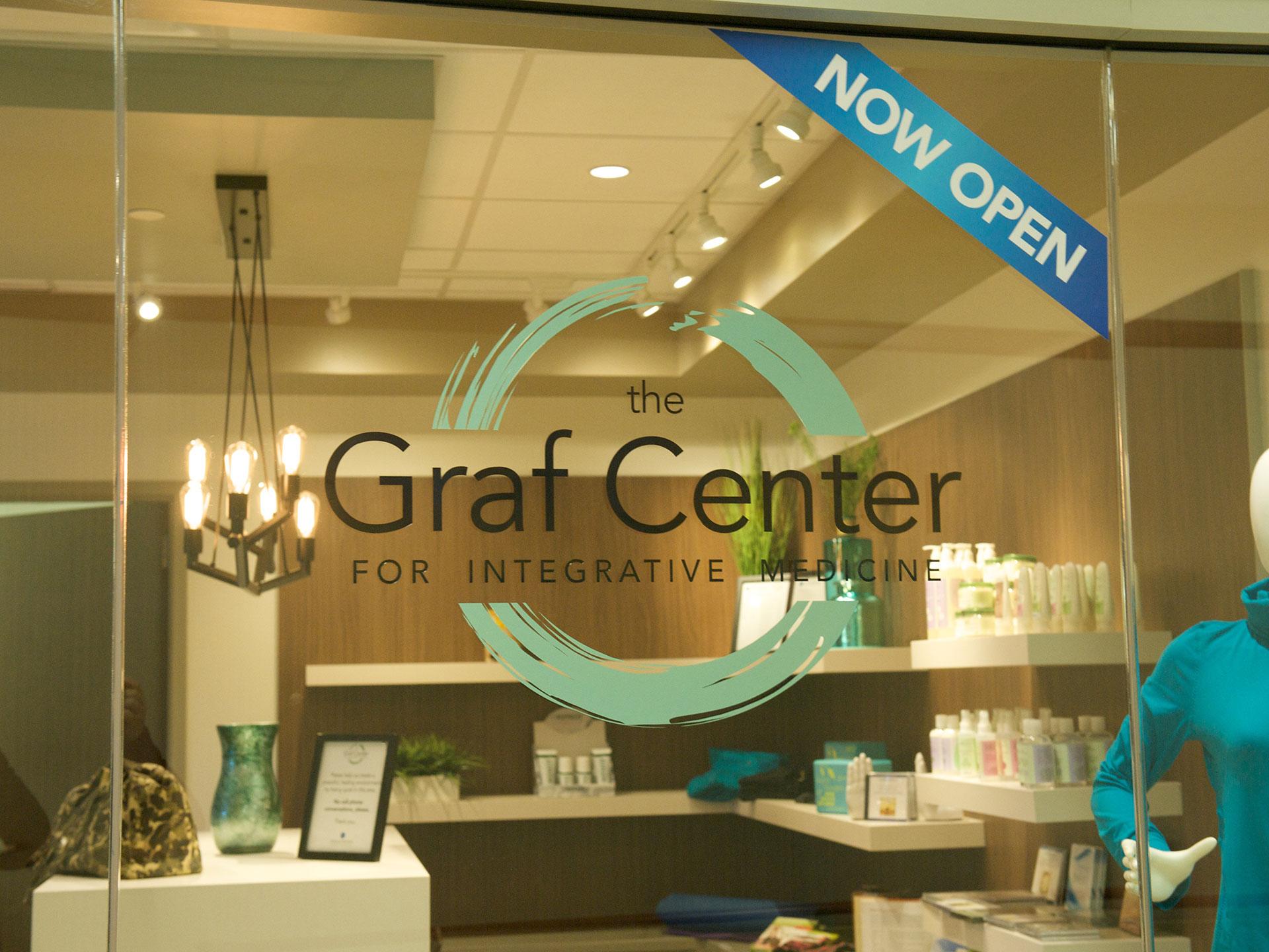 Graf Center entrance