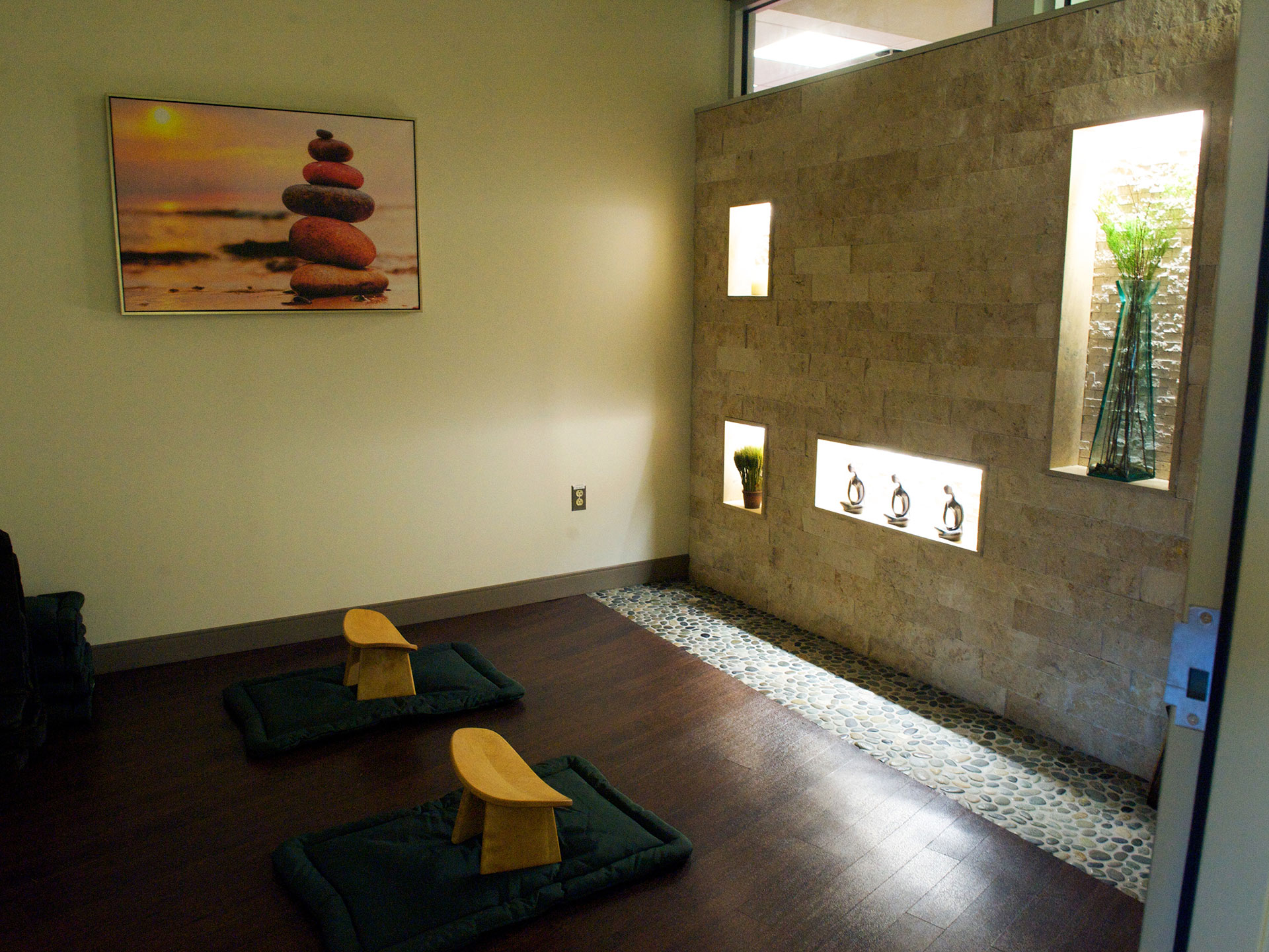 Graf Center meditation room