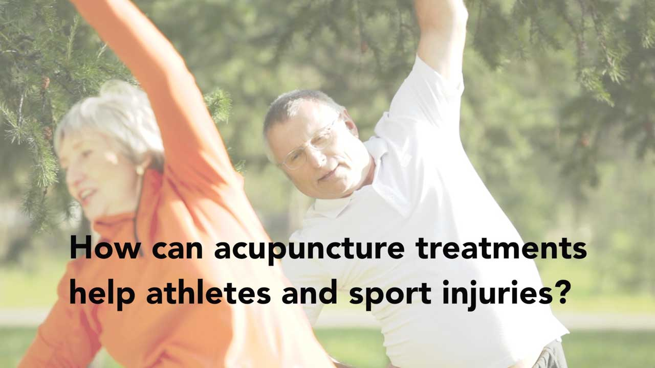 Video: How can acupuncture treatments help athletes and sport injuries?