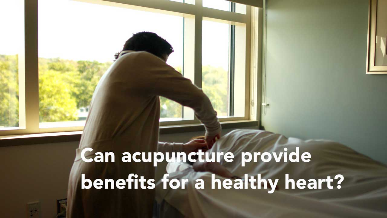 Video: Can acupuncture provide benefits for a healthy heart?
