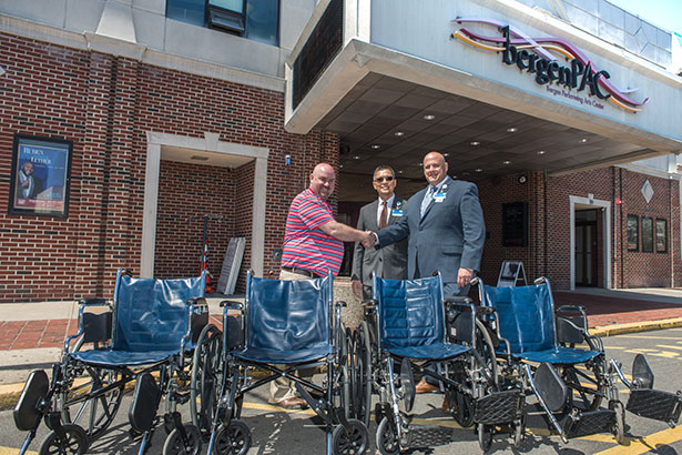 Wheelchairs for bergenPAC Patrons