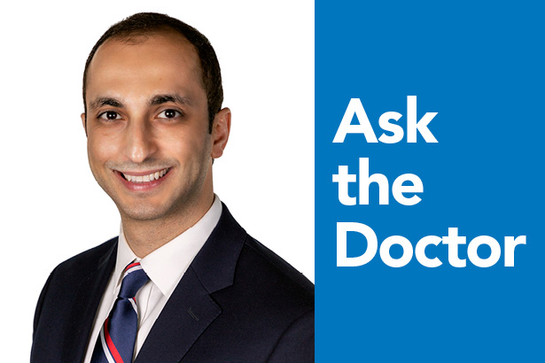 Ask the Doctor: Mazyar Ghanaat, MD