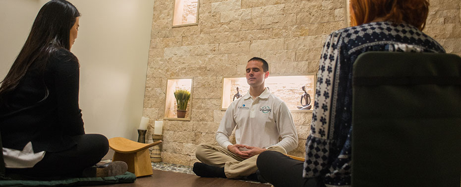 Meditation and Stress Management at the Graf Center