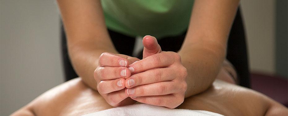 Massage and Reiki at the Graf Center