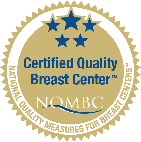 NQMBC Certified Quality Breast Center seal