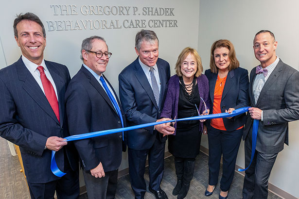 Gregory P. Shadek Behavioral Care Center dedication