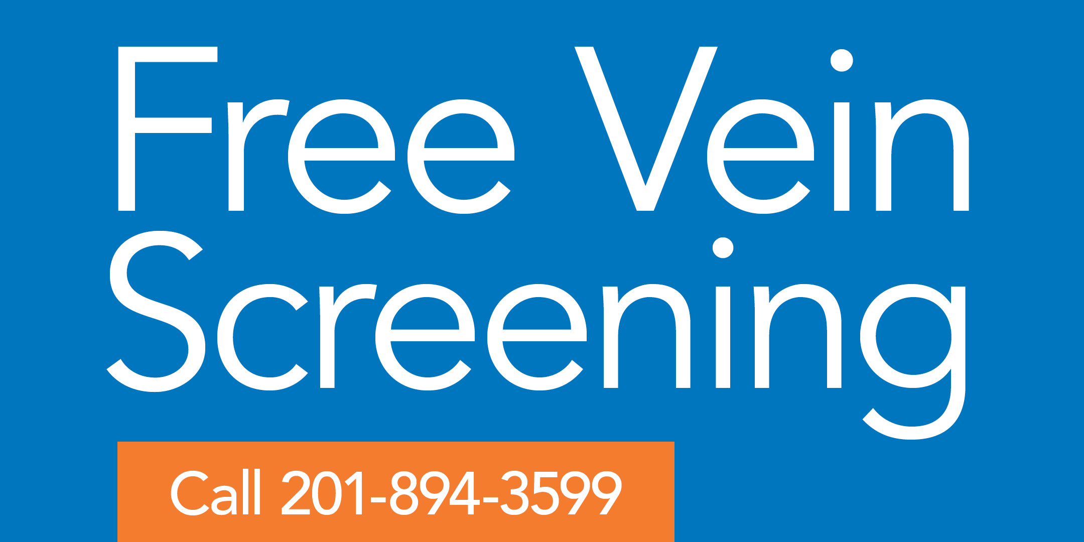 More info: Free Vein Screening – Fair Lawn Sessions