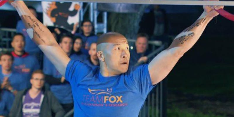 More info: Jimmy Choi, American Ninja Warrior Living With Parkinson's