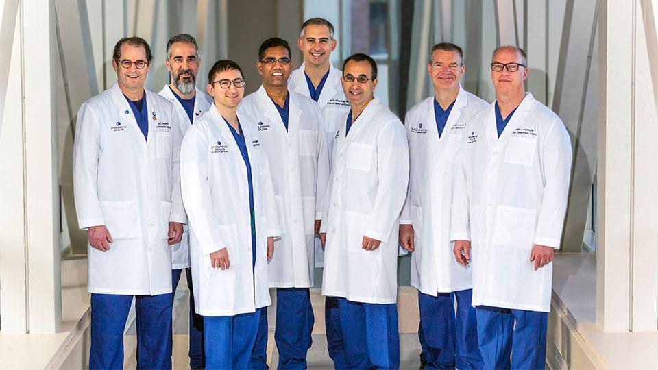 Englewood Health TAVR team