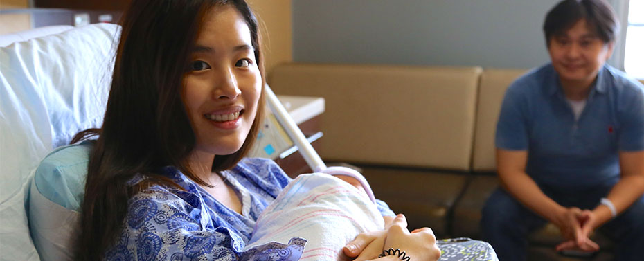 New parents at Englewood Hospital
