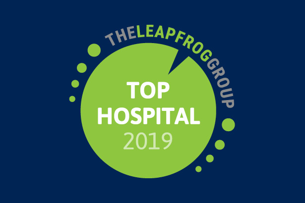 The Leapfrog Group Top Hospital 2019 badge