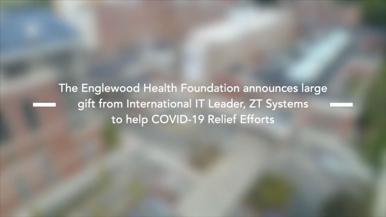 Video: ZT Systems Donates to COVID-19 Relief at Englewood Hospital