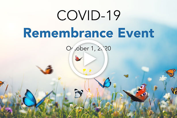 COVID-19 Remembrance Event