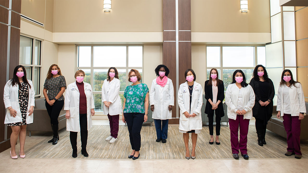 The Englewood Health breast surgical services team
