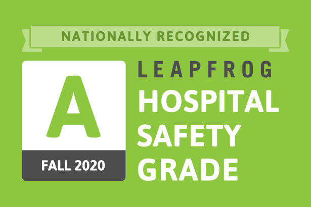 Leapfrog Hospital Safety Grade A - Fall 2020
