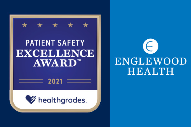 Healthgrades Patient Safety Excellence Award 2021