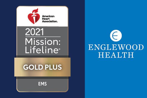 AHA 2021 Mission Lifeline Gold Plus EMS award