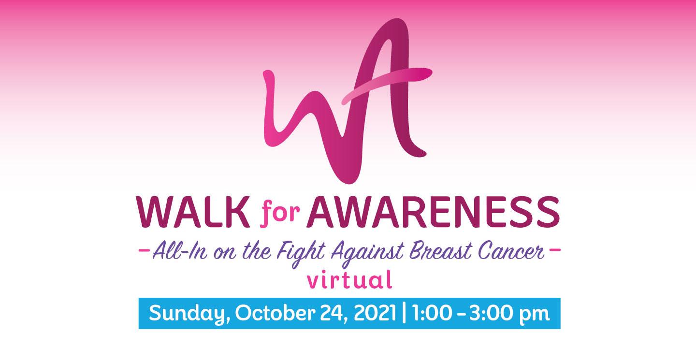 More info: Walk for Awareness – Virtual, Fall 2021